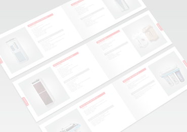 hb catalogue - Email design